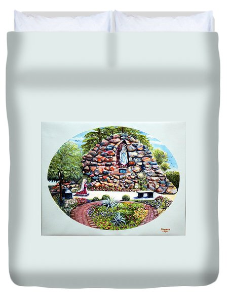 The Grotto Duvet Cover