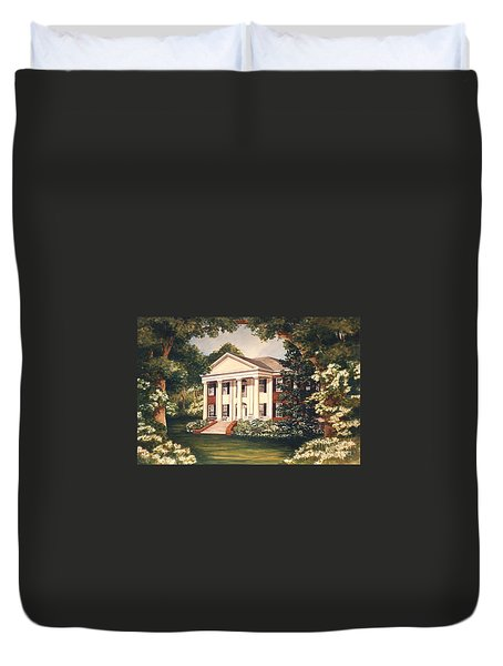 The Grove Tallahassee Florida Duvet Cover by Audrey Peaty