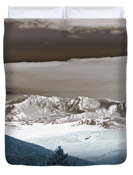 The Guardian Duvet Cover by Jeremy Rhoades