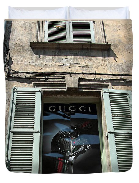 The Gucci Window Duvet Cover