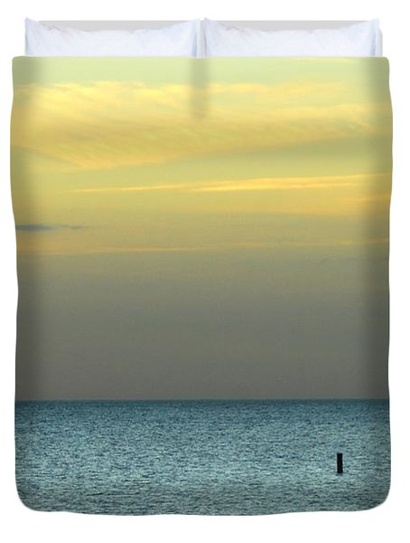 Duvet Cover featuring the photograph The Gulf Of Mexico by Anthony Wilkening