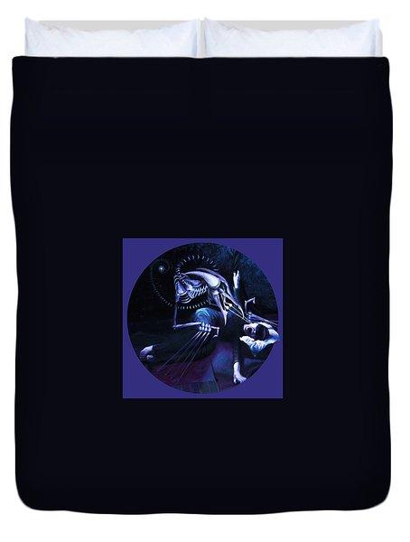 The Hallucinator Duvet Cover by Shelley  Irish