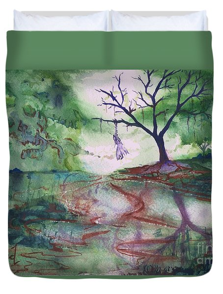 The Hanging Tree  Duvet Cover