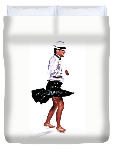 The Happy Dance Duvet Cover