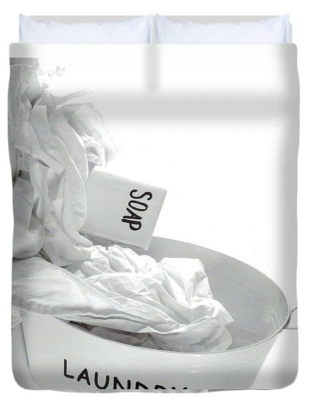 The Happy Housewife Duvet Cover
