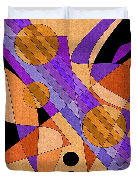 Electric Harp Duvet Cover