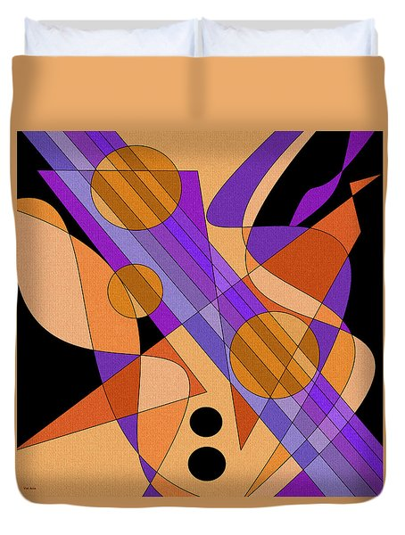 Electric Harp Duvet Cover