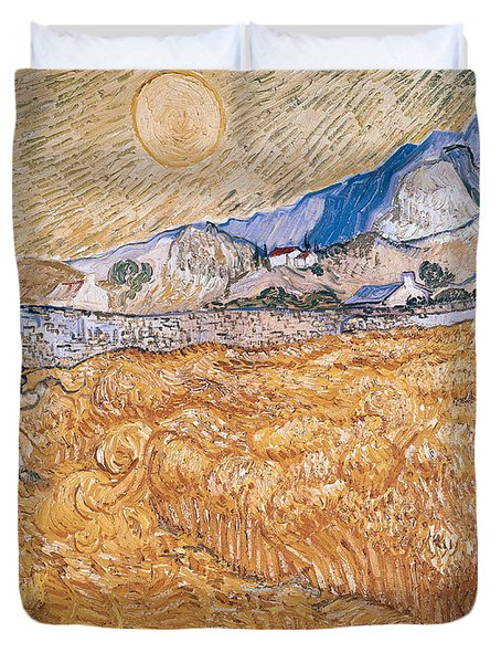 The Harvester Duvet Cover by Vincent Van Gogh