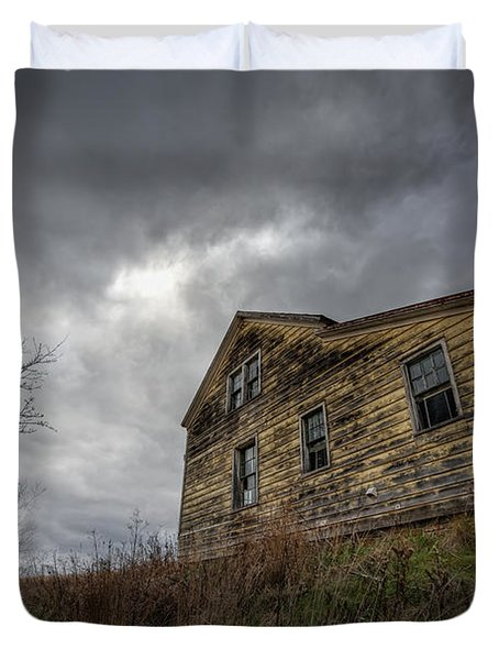 The Haunted Color Duvet Cover by Michael Ver Sprill