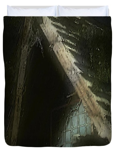 The Haunted Gable Duvet Cover by RC DeWinter