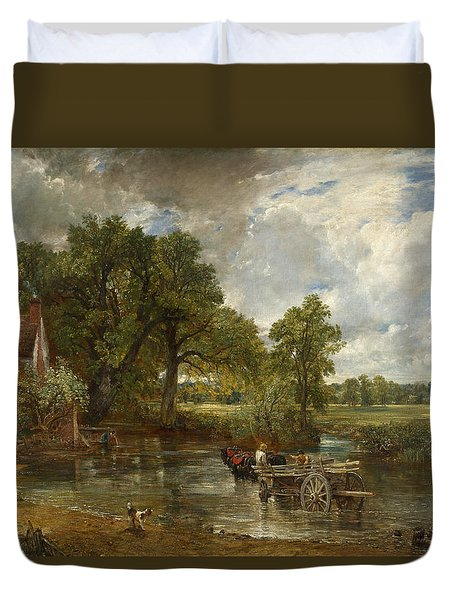 The Hay Wain Duvet Cover