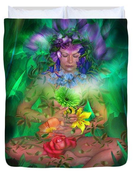 The Healing Garden Duvet Cover