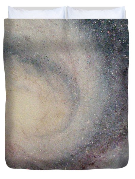 The Heavens Declare Your Glory Duvet Cover