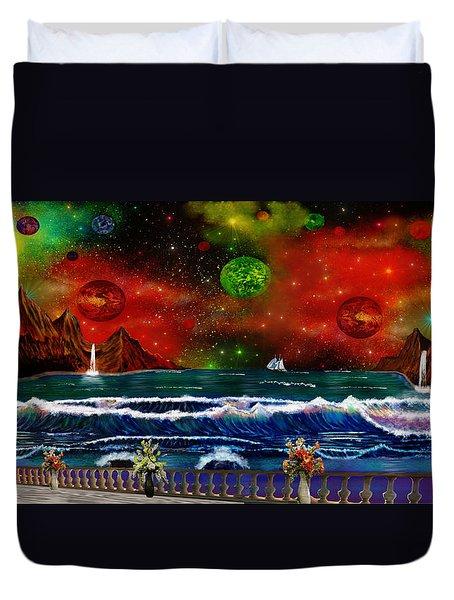 The Heavens Duvet Cover by Michael Rucker