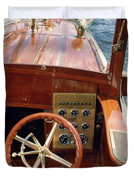 The Helm - Lake Geneva Wisconsin Duvet Cover