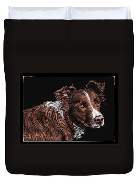 The Herder Duvet Cover