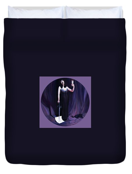 The Heretic Duvet Cover by Shelley Irish