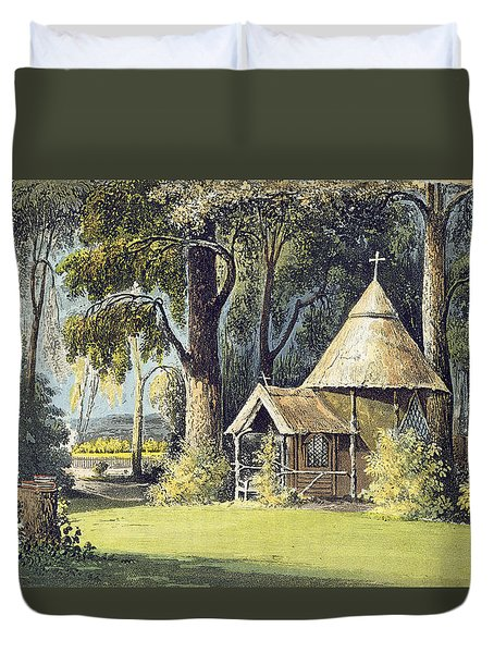 The Hermitage, From Ackermanns Duvet Cover