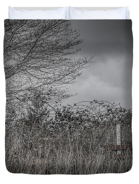 The Hidden Bench 2 Duvet Cover