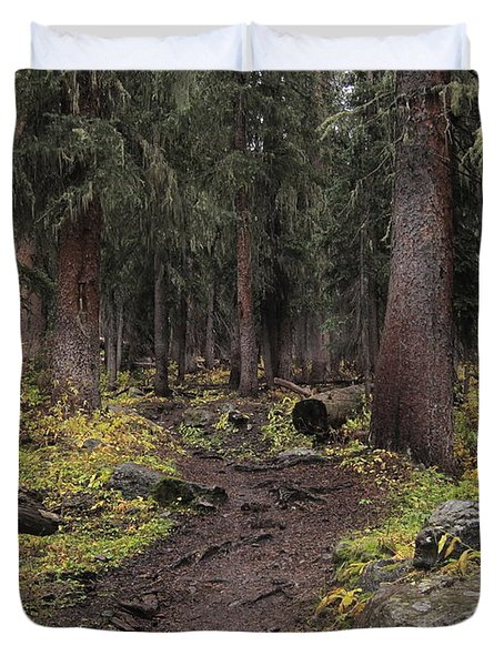 The High Forest Duvet Cover by Eric Glaser
