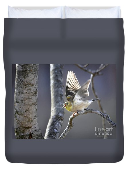 The High Notes Duvet Cover