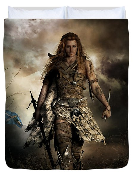 The Highlander Duvet Cover