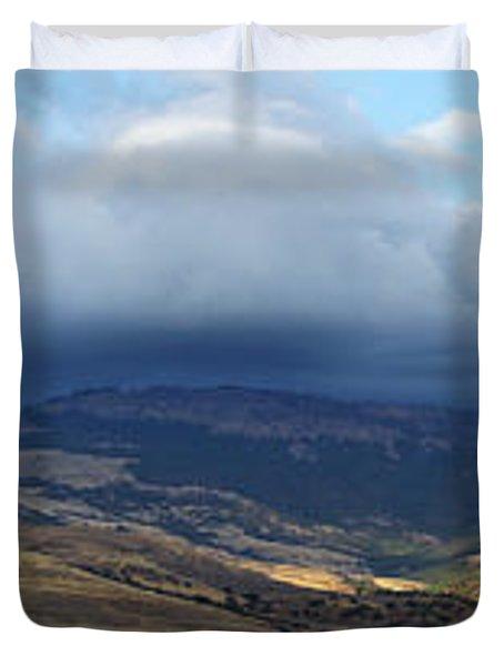 The Hills Of Ashland Duvet Cover