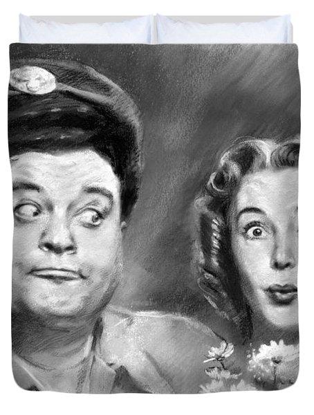 The Honeymooners Duvet Cover