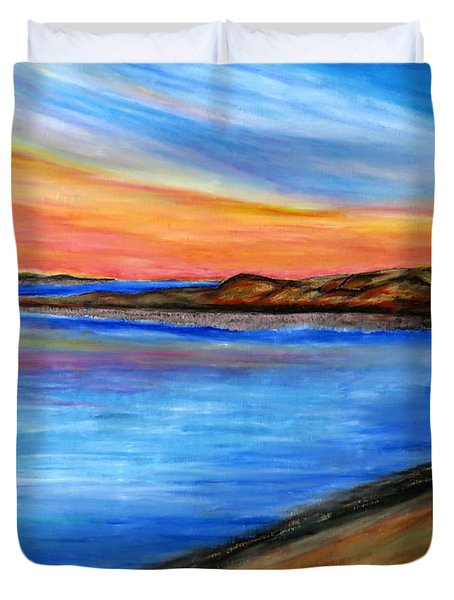 The Horizon Duvet Cover