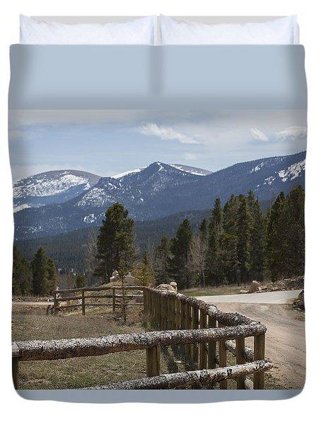 The Horse Ranch Duvet Cover
