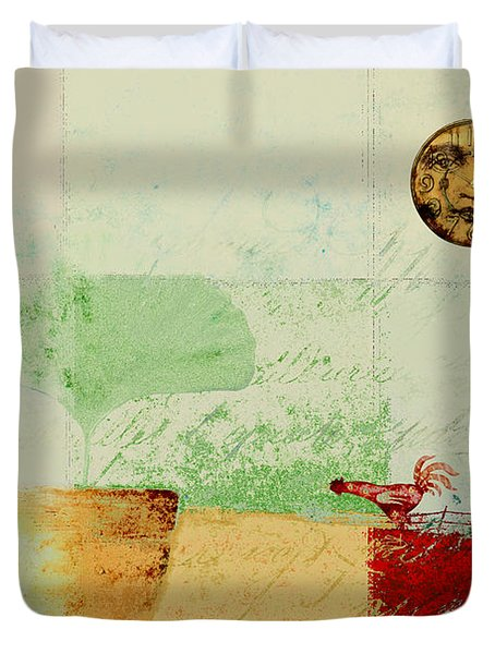 The House Next Door - J191206097-c4f1 Duvet Cover by Variance Collections