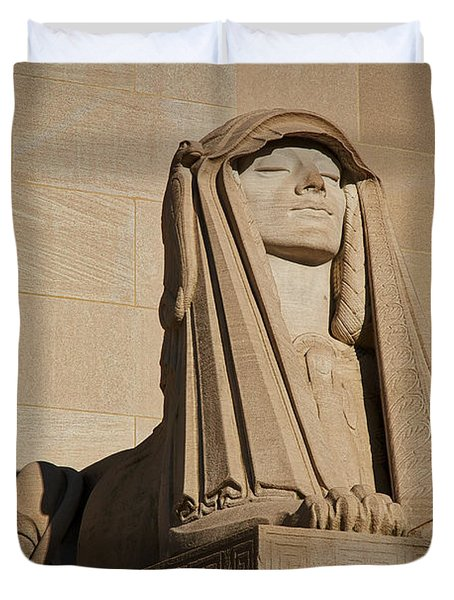 The House Of The Temple Sphinx #2 Duvet Cover