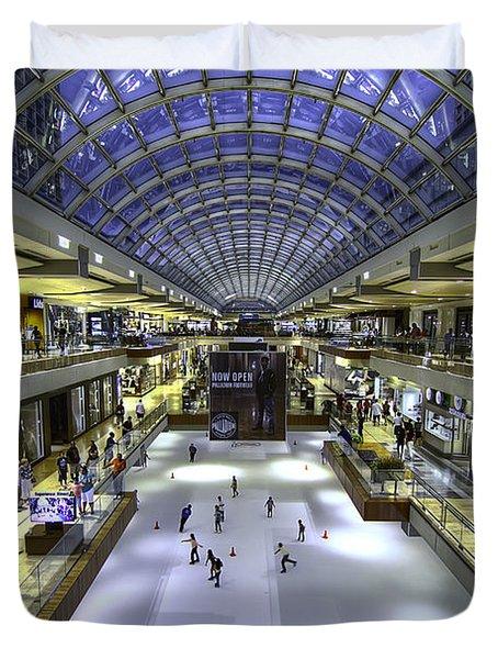 The Houston Galleria Duvet Cover