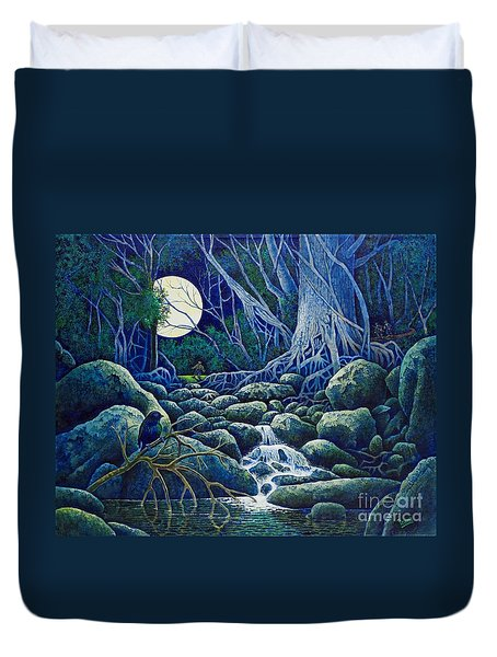 The Hunt For The Wolfman Duvet Cover