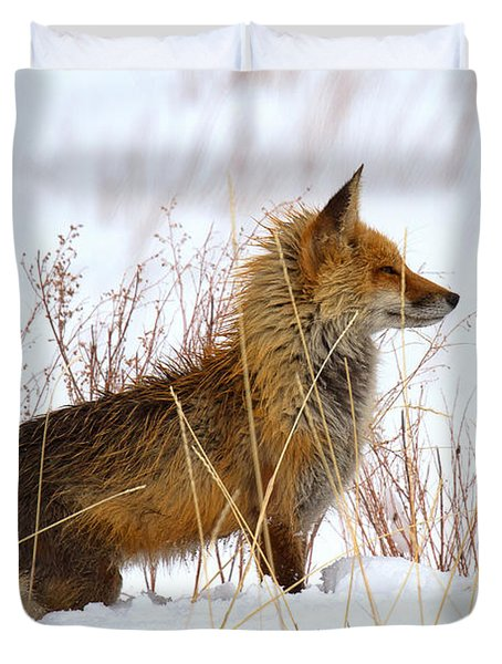 The Huntress Duvet Cover