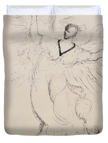 The Immortal Angel Duvet Cover