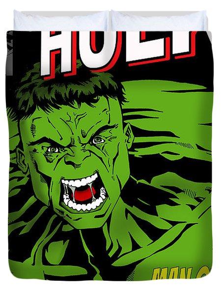 The Incredible Hulk Duvet Cover