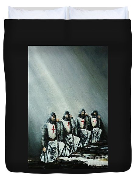 The Initiation Duvet Cover