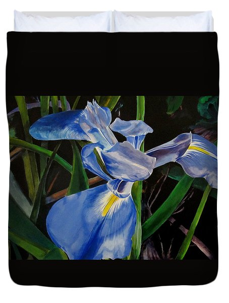 The Iris Duvet Cover