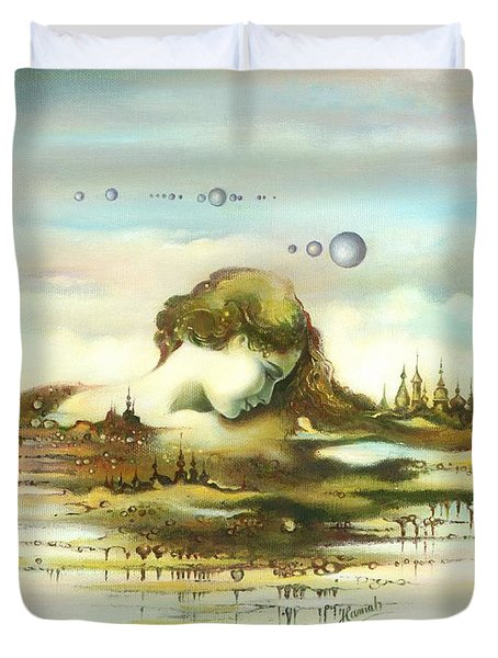 The Island Duvet Cover