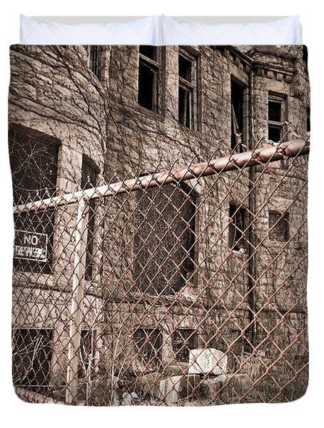 The James Scott Mansion Duvet Cover by Priya Ghose