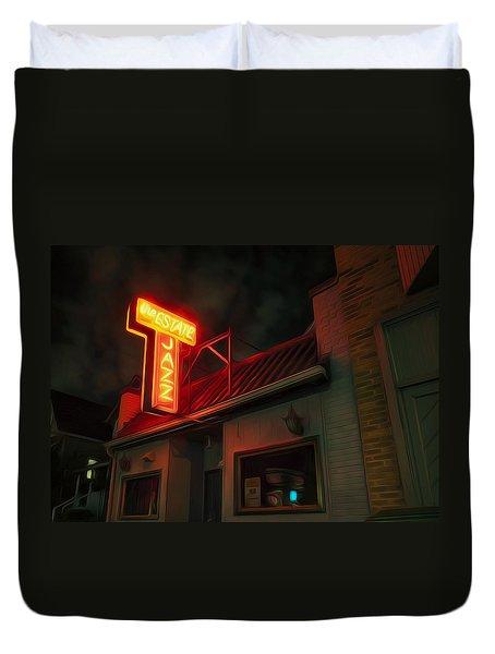 The Jazz Estate Duvet Cover