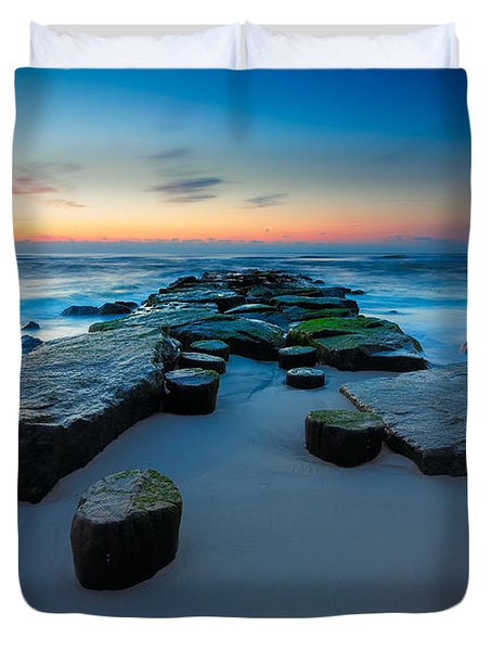 The Jetty Duvet Cover