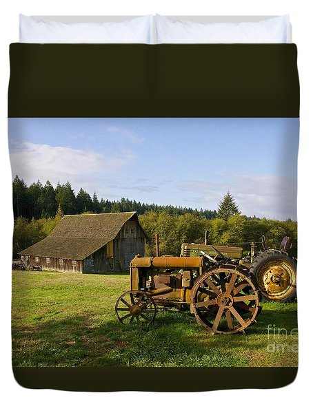 The Johnson Farm Duvet Cover by Sean Griffin