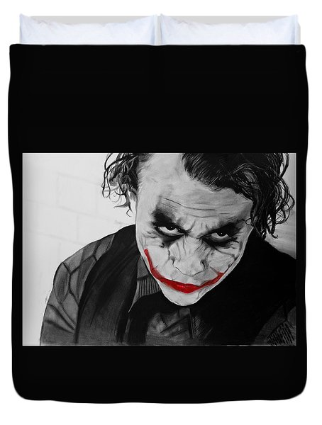 The Joker Duvet Cover by Robert Bateman