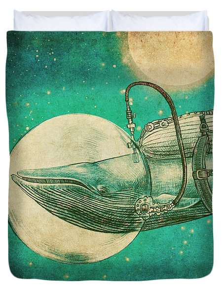 The Journey Duvet Cover by Eric Fan