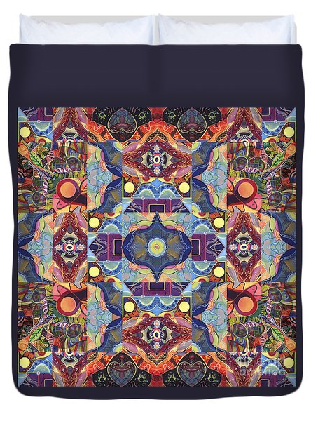 The Joy Of Design Mandala Series Puzzle 1 Arrangement 1 Duvet Cover