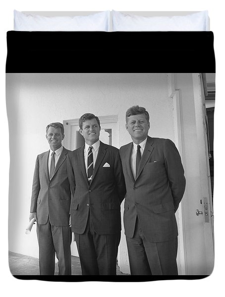 The Kennedy Brothers Duvet Cover by War Is Hell Store