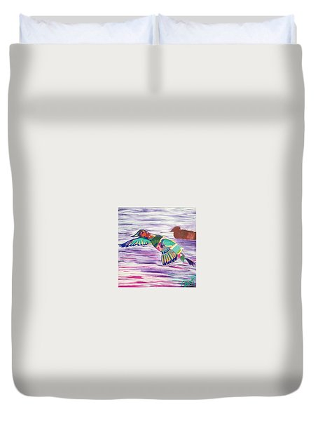 The King Canvasback Duvet Cover
