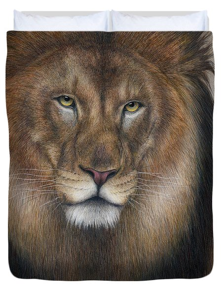 The King Grows Weary  Duvet Cover